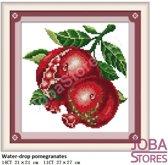 """Borduur Pakket """"JobaStores®"""" Fruit 04 11CT voorbedrukt (27x27cm)"""