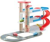New Classic Toys Parkeergarage met autobaan en 3 auto