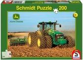 Puzzel tractor John Deere 200 stukjes