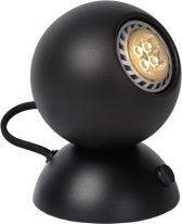 Lucide Folie Tafellamp - Richtbaar/Draaibaar - Incl 4W LED - Geborsteld Zwart
