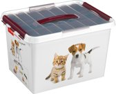 Sunware Q-line multibox pet decor 22 liter + inzetbakje