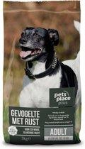 Pets Place Plus Hond Adult Mini - Hondenvoer - Kip Rijst - 3 kg