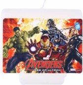 Avengers Age of Ultron™ verjaardagskaars - Feestdecoratievoorwerp