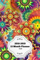15 Month Planner 2018-2019 6 x9