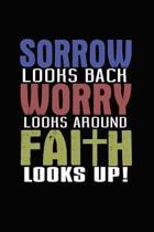 Sorrow Looks Back Worry Looks Around Faith Looks Up