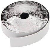 Silverline Witte klittenband rollen, zelfklevend, 20 mm x 5 meter