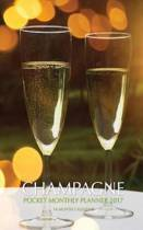 Champagne Pocket Monthly Planner 2017