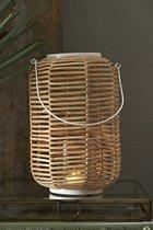 Riviera Maison Serene Bay Lantern Windlicht - 15x15 Cm - Bruin