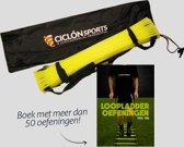 loopladder 4 meter - speedladder - met oefeningen boek