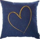 Riverdale Heart - Kussen - 45x45cm - blauw