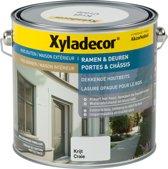 Xyladecor Ramen & Deuren - Dekkende Houtbeits - Krijt - 2,5L