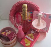 """Kerstpakket - feestpakket 11- delig """"Roze"""""""