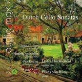 Dutch Sonates For Violoncello And Piano Vol. 6