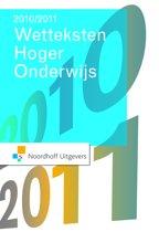 Wetteksten Hoger Economisch Onderwijs 2010-2011