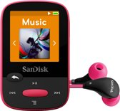 Sandisk Sansa Clip Sports - MP3-speler - 8 GB - Roze
