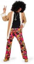 Hippie broek met jasje voor heren 52 (l)