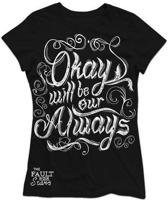 Fault In Our Stars - Okay will be our Always Zwart - XL