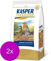 Kasper Faunafood Strooivoer met Insecten - Vogel - Aanvullend voer - 2 x 1 kg