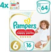 Pampers Premium Protection Pants - Maat 6 (15+ kg) - 64 Stuks - Luierbroekjes