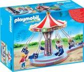 Playmobil Kermis Zweefmolen met kleurrijke verlichting - 5548