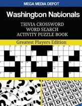 Washington Nationals Trivia Crossword Word Search Activity Puzzle Book