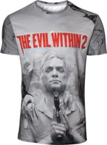 The Evil Within - 2 Box Art Sublimation T-shirt - S