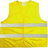 Veiligheidsvest - Reflecterend - Fluoriserend geel