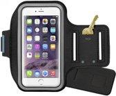 Sport armband hardloop hoesje voor Apple iPhone 6S- Zwart