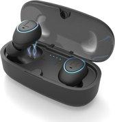 2019 Wireless Earbuds | Bluetooth | Draadloos | Earphones | oordopjes geschikt voor Samsung, Apple, Android apparaten met Bluetooth 5.0