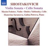 Yablonsky/Fedotov/Petrova - Cello & Violin Sonatas