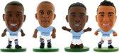 Soccerstarz voetbalpoppetjes Manchester City 4-pack Fernandihno ⚽ Vincent Kompany ⚽ Gabriel Jesus ⚽ Danilo