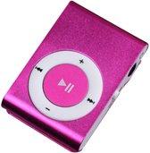 Mini clip MP3 speler - Roze