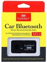 Earldom Bluetooth Stereo FM Transmitter - Voor Bellen & Muziek in de Auto - M12