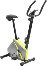 Fitness Fiets Hometrainer Magnetisch met Hartslagmeter en Tablethouder - Home trainer - Airbike - Cross trainer