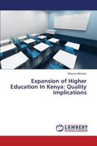 Expansion of Higher Education in Kenya