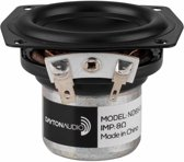 Dayton Audio ND65-8 2-1/2 Aluminum Cone Full-Range Driver 8 Ohm