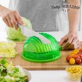 Quick Salad Maker Snelle Slawasser, -Droger en -Snijder