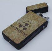 Elektrische Plasma Aansteker Premium - USB Oplaadbaar - Met Batterij Indicator - Vuurwerk - Wind en Storm Bestendig - Chernobyl