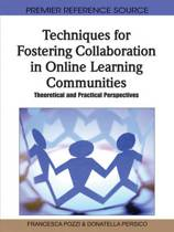 Techniques for Fostering Collaboration in Online Learning Communities