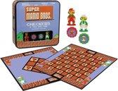Super Mario Bros Checkers & Tic-tac-toe Collectors Game Set