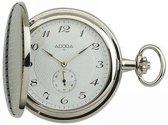 Prachtige zilverkleurige zakhorloge  van het merk Adora  SDO,US