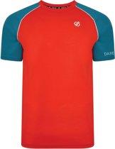 Dare 2b-Institute Wool T-Outdoorshirt-Mannen-MAAT M-Rood