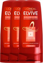 L'Oréal Paris Elvive Color Vive Conditioner - 3 x 200 ml - Voordeelverpakking