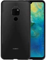 Magnetic Back Cover voor Huawei Mate 20 Zwart - Transparant