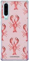 Huawei P30 siliconen telefoonhoesje - Lobster all the way