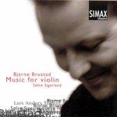 Brustad/Music For Violin Solo