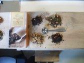 Van Bruggen Thee Winter -  doseerlepel en papieren filters