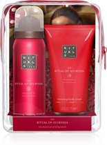 RITUALS The Ritual of Ayurveda Beauty To Go tasje - mini doucheschuim en bodycrème
