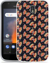 Nokia 1 Hoesje Butterflies