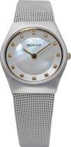 BERING 11927-004 - Horloge - Staal - Zilverkleurig - Ø 27 mm